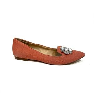 Sole Society So Libery Coral Pink Loafter Flats